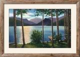 Grand Lake  Colorado - Sunrise Scene on the Lake