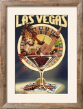 Las Vegas  Nevada - Casino Pinup Girl