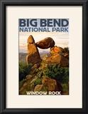 Big Bend National Park  Texas - Window Rock