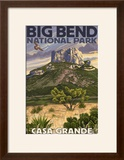 Big Bend National Park  Texas - Casa Grande