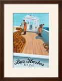 Bar Harbor  Maine - Lobster Boat