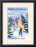 North Cascades  Washington - Cross Country Skiing
