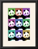 Panda Pop Art - Visit the Zoo