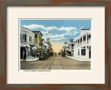 Key West  Florida - Duval Street West Scene