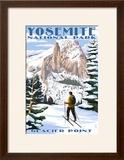 Glacier Point and Half Dome - Yosemite National Park  California