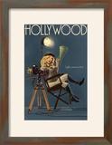 Hollywood  California - Directing Pinup Girl