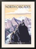 North Cascades  Washington - Mountain Peaks
