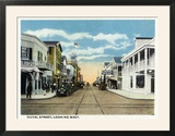 Key West  Florida - Duval Street West Scene