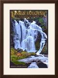 Kings Creek Falls - Lassen Volcanic National Park  CA