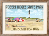 Robert Moses State Park  Long Island  New York