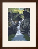 Watkins Glen State Park  New York - Rainbow Falls