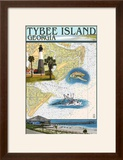 Tybee Island  Georgia - Nautical Chart