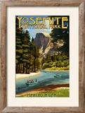 Merced River Rafting - Yosemite National Park  California