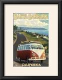 Santa Barbara  California - VW Van Scene