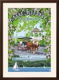 Mackinac  Michigan - Montage Scenes