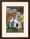 Cades Cove Baptist Church - Great Smoky Mountains National Park  TN