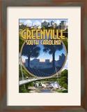 Greenville  South Carolina - Montage