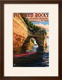 Pictured Rocks National Lakeshore  Michigan