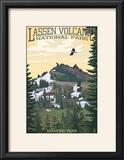 Diamond Peak - Lassen Volcanic National Park  CA