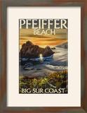 Pfeiffer Beach  California