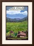 Drakesbad Valley - Lassen Volcanic National Park  CA