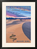Mesquite Dunes - Death Valley National Park
