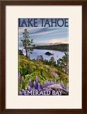 Lake Tahoe  California - Emerald Bay