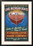 Lake Michigan  Michigan - Boat Shop