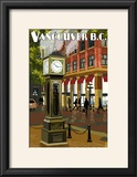 Vancouver  BC - Steam Clock