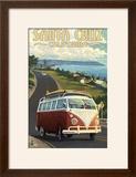 Santa Cruz  California - VW Van