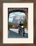 Black Hills  South Dakota - Iron Mountain Road Biker Scene