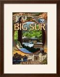 Big Sur  California - Montage Scenes