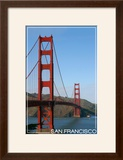 San Francisco  California - Golden Gate Bridge Day