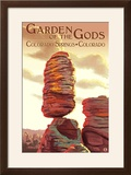 Colorado Springs  Colorado - Garden of the Gods  Balanced Rock