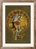 Skeleton and Guitar
