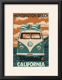 Huntington Beach  California - VW Van