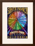 Santa Monica  California - Ferris Wheel