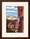 Zion National Park - Cliff Climber