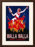 Woman with Bottle - Walla Walla  Washington