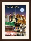 Las Vegas  Nevada - Las Vegas at Night