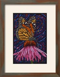 Monarch Butterfly - Paper Mosaic