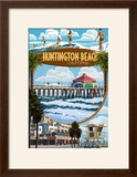 Huntington Beach  California - Montage Scenes