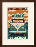 Manhattan Beach  California - VW Van