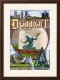 Detroit  Michigan - Montage Scenes