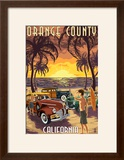 Orange County  California - Woodies and Sunset