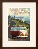 Laguna Beach  California - VW Van Cruise