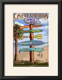 Venice Beach  California - Destination Sign