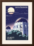 Griffith Observatory at Night - Los Angeles  California