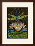 Dragonfly - Paper Mosaic