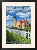 Mackinac Island  Michigan - Old Mackinac Lighthouse